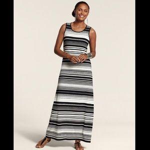 Chico's Tamra Striped Tank Maxi Dress